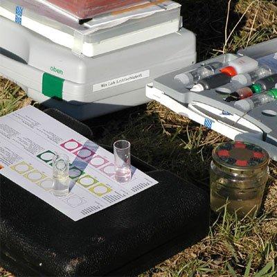 Abiturthema Ökosystem Fließgewässer am 10. September 2020