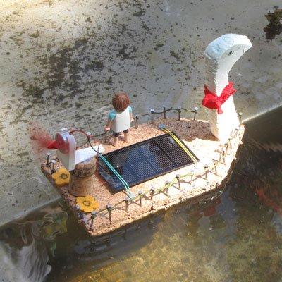 Wir bauen ein Solarboot am 23. Juli 2021