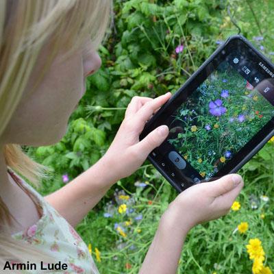 Familiennachmittag: Natur entdecken mit dem Smartphone am 25. September 2020